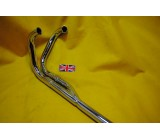 Greeves Siamese Exhaust Pipes