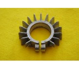 """Finned Exhaust Cooling Ring - 1-3/8"""""""