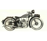 BSA 1930 B3 Upright