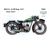 BSA 1935 B1 Upright SV 250