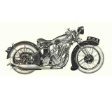 BSA 1930 Sloper Exhaust