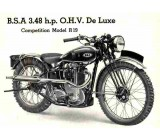 BSA 1936 R19 OHV Single Port