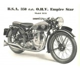 BSA 1937 B24 OHV Single Port