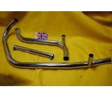 Moto Morini 3-1/2 Exhaust  - Pipe Set
